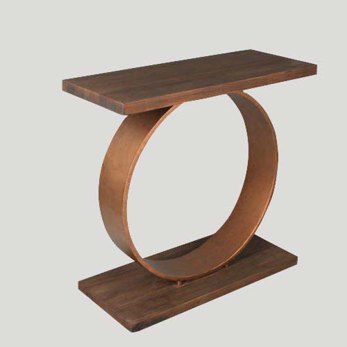 Copper Console Table