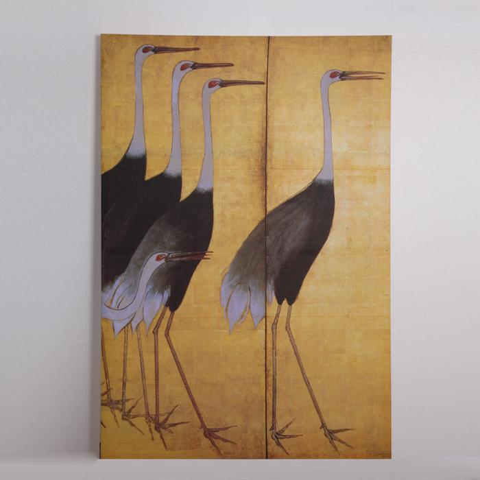 Silk Screen - Storks