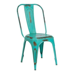Green Vintage Style Chair
