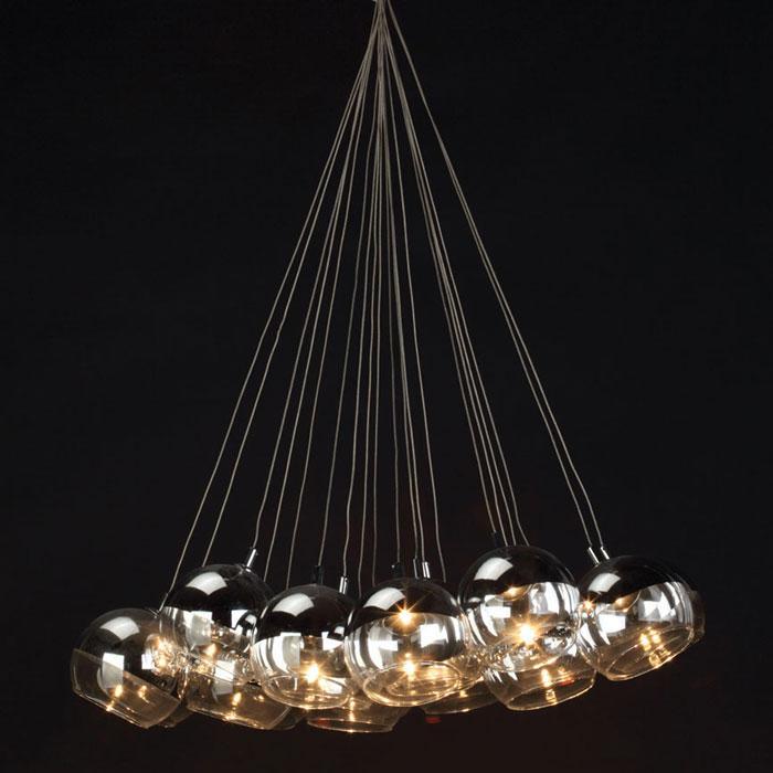 Silver Balls Hanging Lamp
